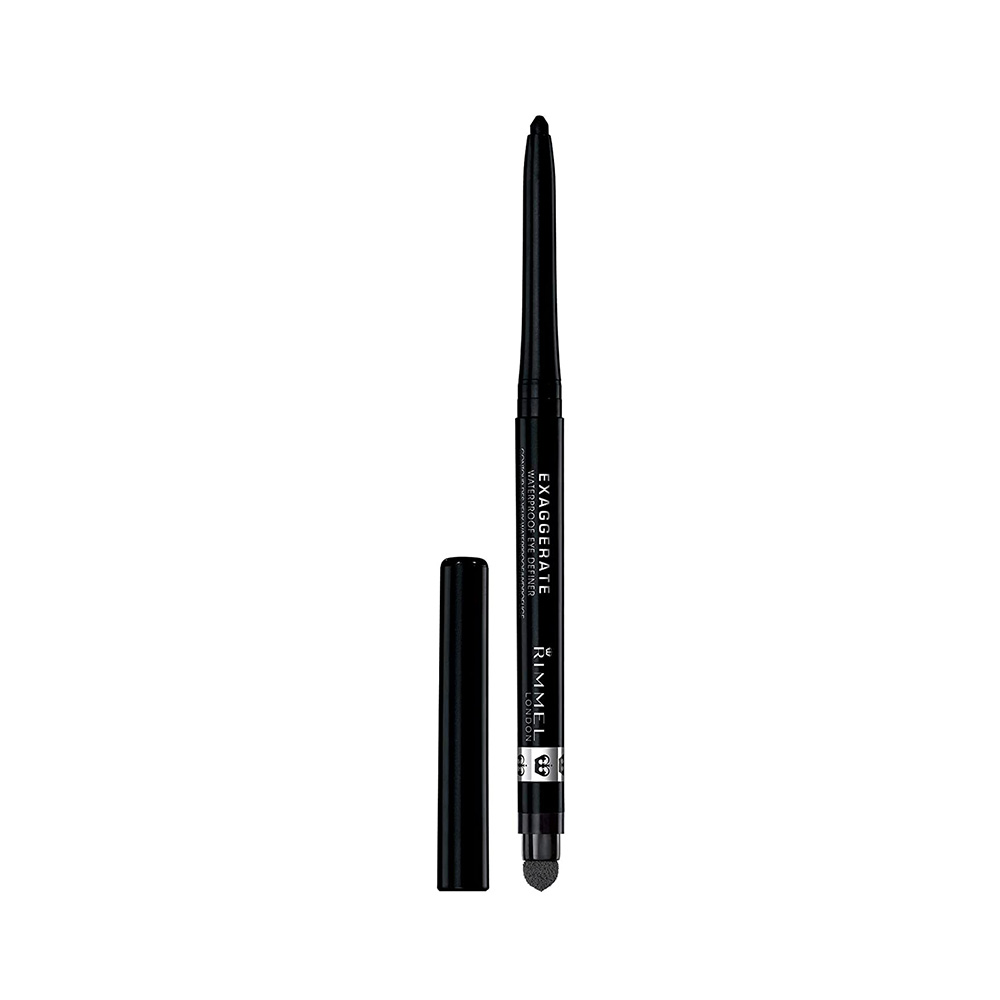 Rimmel London Scandal eyes reloaded mascara + Rimmel London exaggerated eyeliner Black