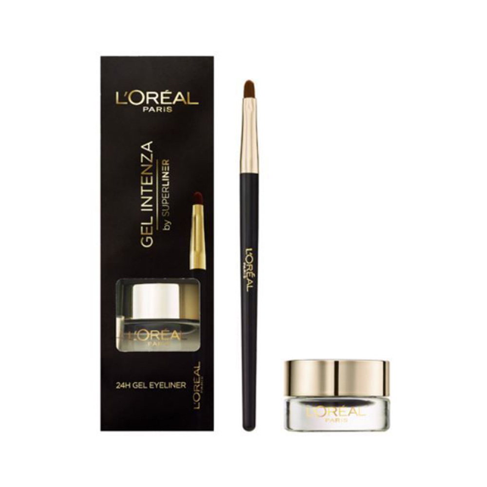 L'Oreal Super Liner Gel Eyeliner Intenza - Pure Black