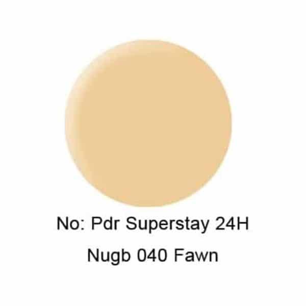 Maybelline newyork super stay powder - 40 Fawn
