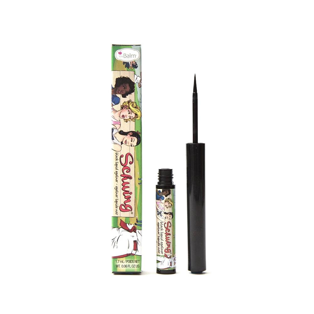 theBalm Schwing Liquid Eyeliner - Black, 0.05 oz.